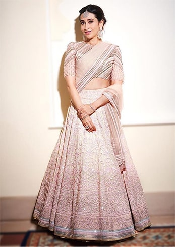 Karisma Kapoor at Isha Ambani Pre Wedding Celebrations