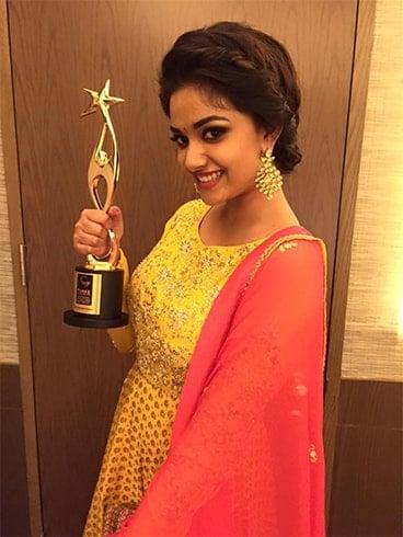Keerthy Suresh Awards