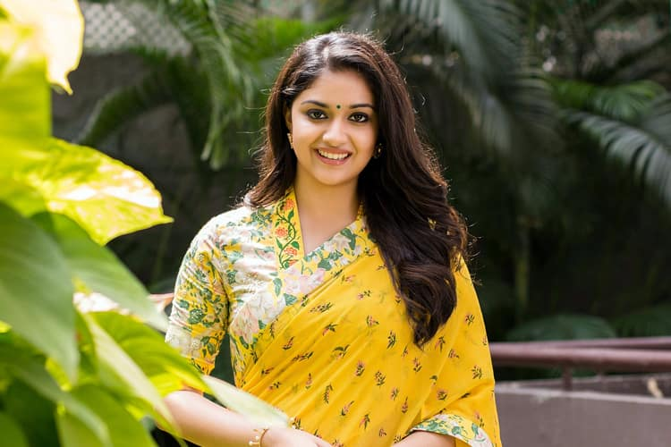 Keerthy Suresh Fashion Profile