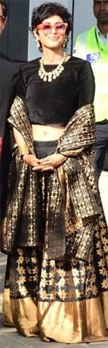 Kiran Rao at Isha Ambani Sangeet