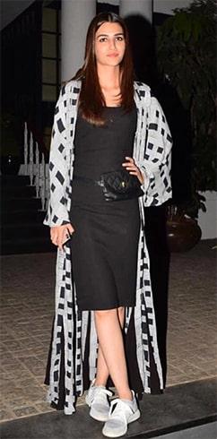 Kriti Sanon Winter Fashion