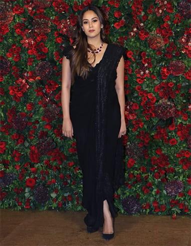 Mira Rajput at Deepveer Reception