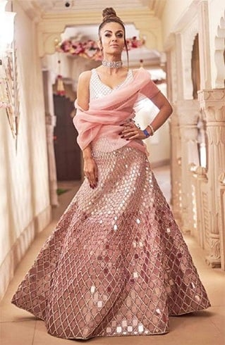 Natasha Poonawalla at Isha Ambani Pre Wedding Celebrations