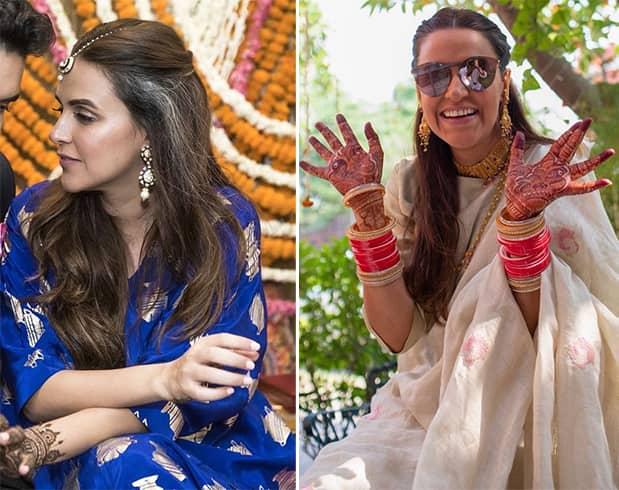 Neha Dhupia Pre Wedding Function
