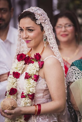 Parsi Bridal Look