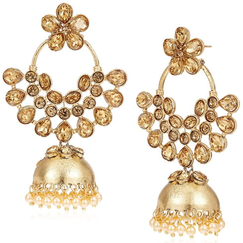 Zaveri Jhumki Earrings