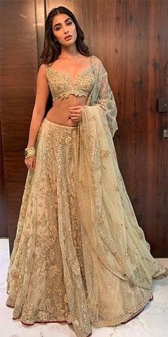 Pooja Hegde at Deepveer Reception