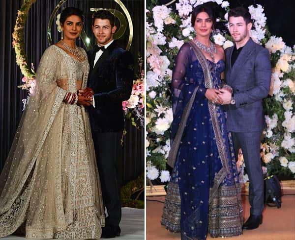 Priyanka Chopra and Nick Jonas Receptions
