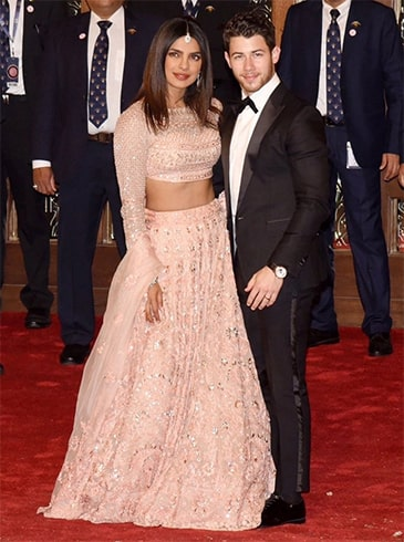Priyanka Chopra at Isha Ambani Anand Piramal Wedding