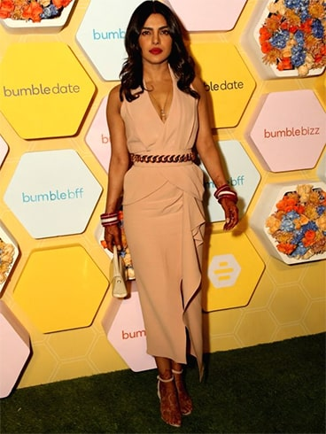 Priyanka Chopra Bumble App Launch Party