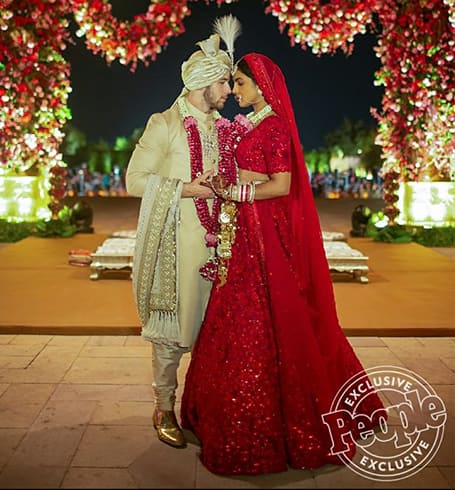 Priyanka Chopra Nick Jonas Hindu wedding