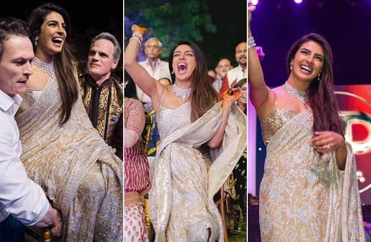 Priyanka Chopra Sangeet ceremony