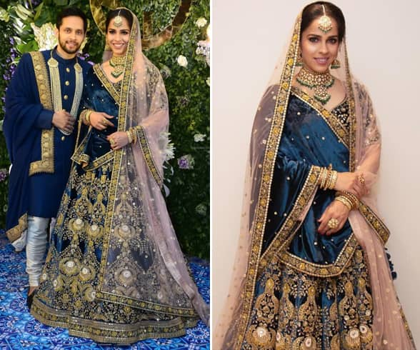 Saina Nehwal and Parupalli Kashyap Wedding Reception