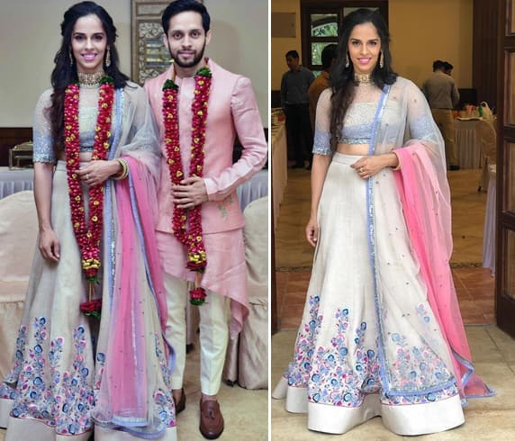 Saina Nehwal and Parupalli Kashyap Wedding