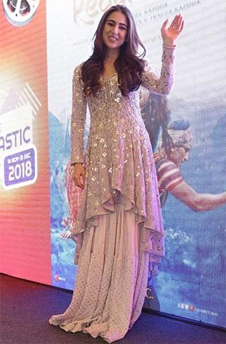 Sara Ali Khan Kedarnath Promotions