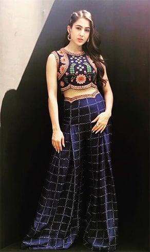 Sara Ali Khan Nupur Kanoi Outfit