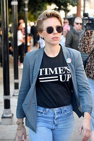 Scarlett Johansson Street Fashion
