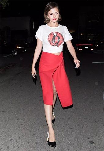 Selena Gomez Fashion Profile