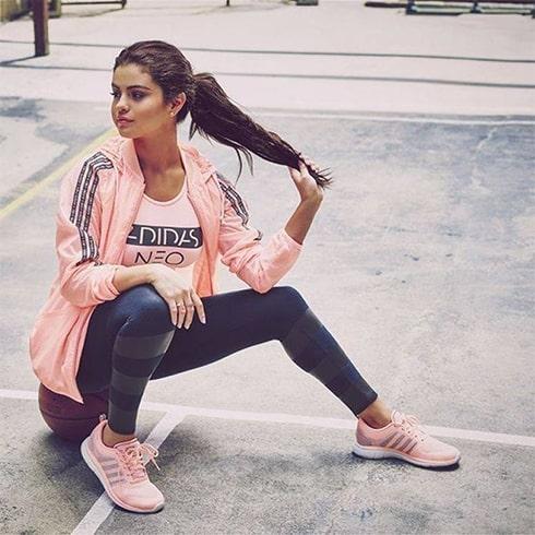 Selena Gomez Fitness