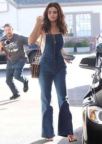 Selena Gomez in Jeans
