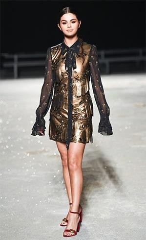 Selena Gomez New York Fashion Week