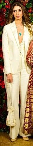 Shweta Bachchan at Deepveer Reception