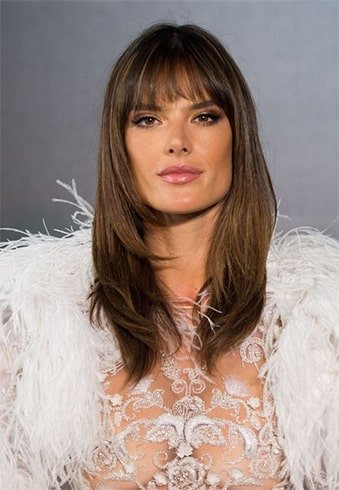 Soft and Feathered Bangs