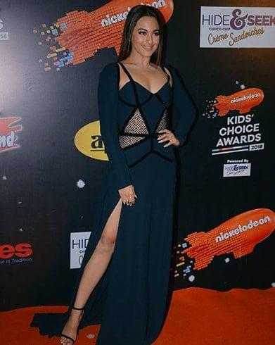 Sonakshi Sinha Nickledeon Kids Choice Awards 2018