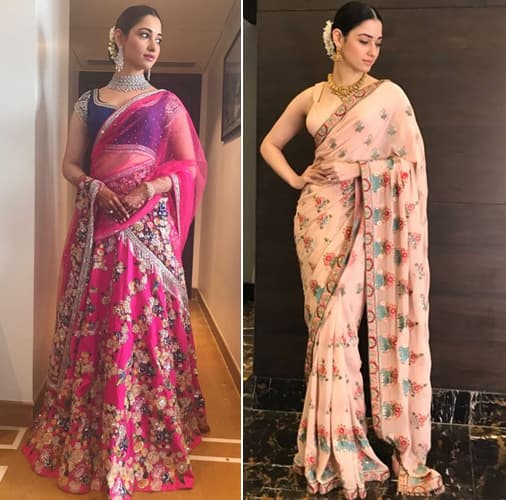 Tamannaah Bhatia Traditional Looks