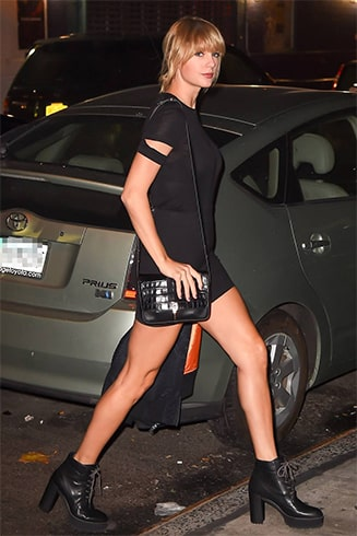 Taylor Swift at Kings of Leon show