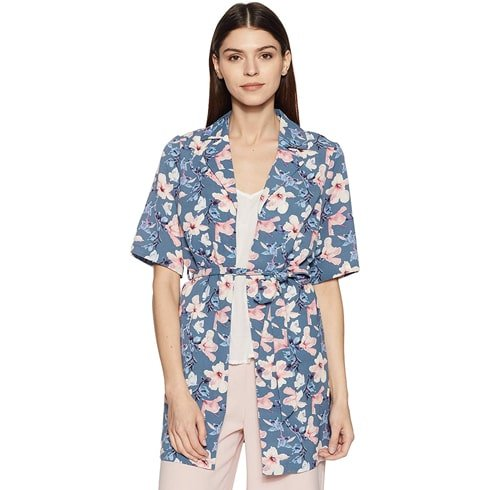 Vero Moda Blue Blouse Shrug