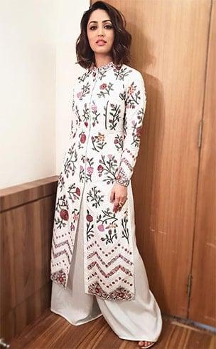 Yami Gautam Rahul Mishra Dress