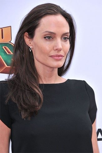 Angelina Jolie Curl Hairstyle