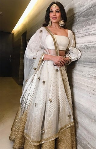 Bipasha Basu at Sakshi Bhatt Wedding