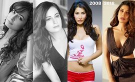 Bollywood Celebrities 10 Year Challenge