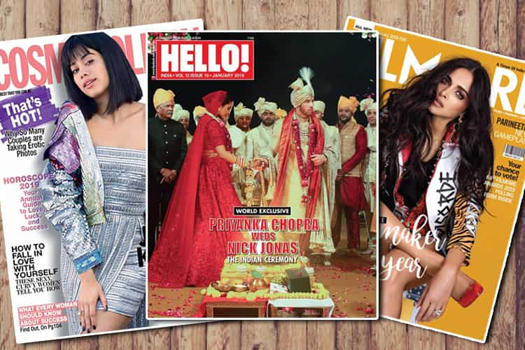 Bollywood January 2019 Magazine Covers