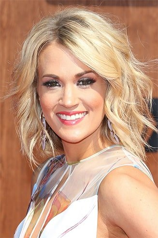 Carrie Underwood Curl Hair