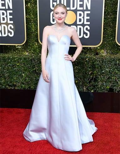 Dakota Fanning Golden Globe Awards 2019