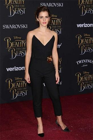 Emma Watson Oscar De La Renta Dress