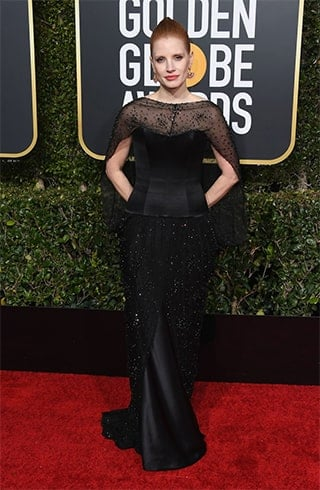 Jessica ChastainGolden Globe Awards 2019