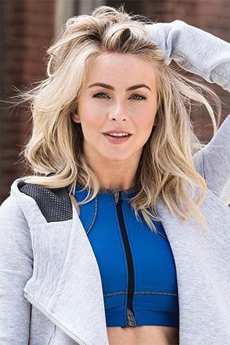 Julianne Hough Curl Hair