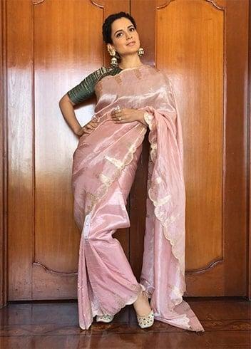 Kangana Ranaut Archana Rao label Saree