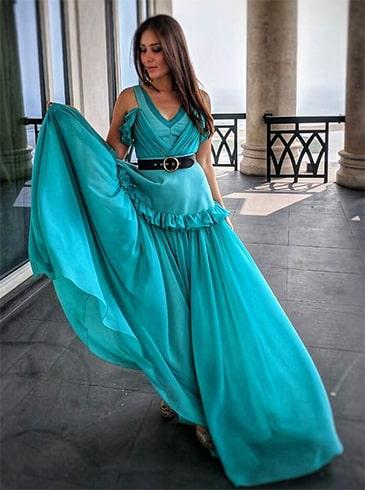 Kareena Kapoor Basil Soda Dress
