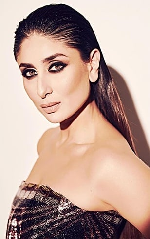 Kareena Kapoor Pulled-Back Sleek Hairdo