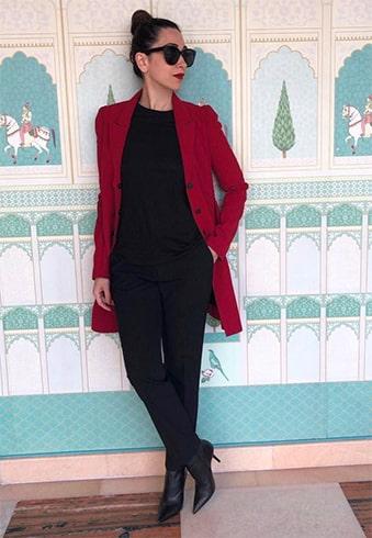 Karisma Kapoor Armani Outfit