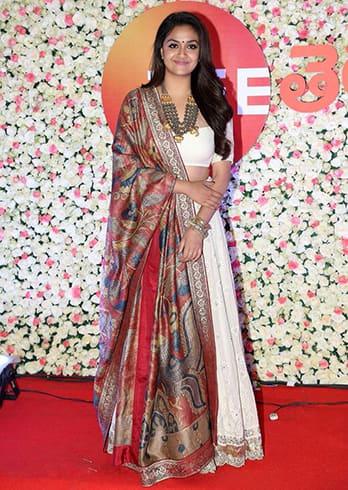 Keerthy Suresh Zee Cine Awards Telugu 2019