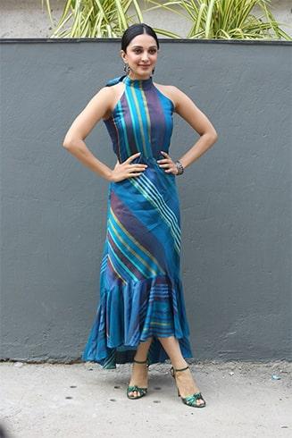 Kiara Advani Anita Dongre Grassroot Outfit