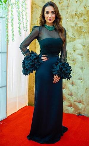 Malaika Arora Antonio Riva bodycon gown