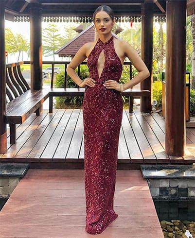 Manushi Chhillar Sunaina Khera dress