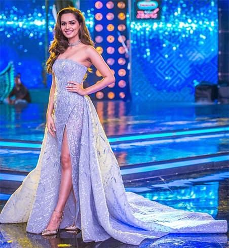Manushi Chhillar Michael Cinto gown